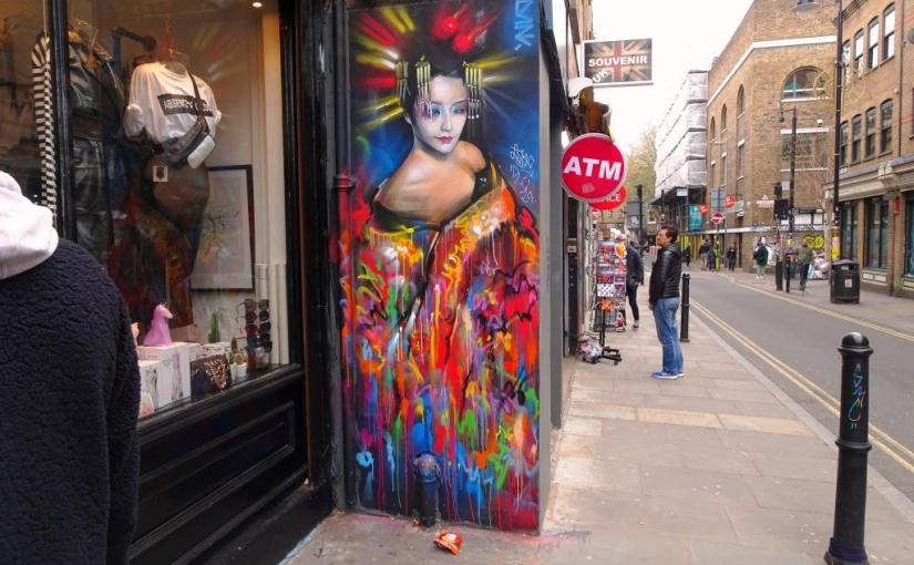 Dan Kitchener, Brick Lane, London, April 2019