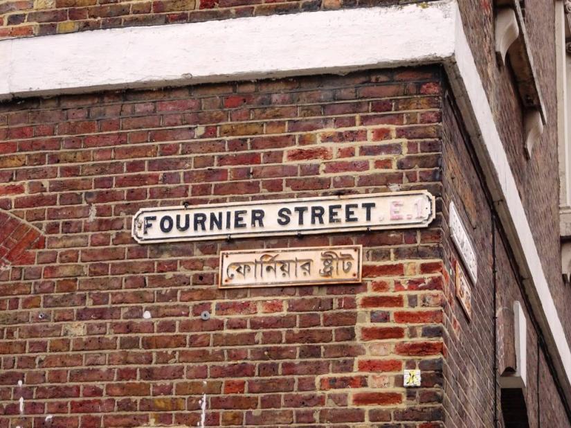 Fournier Street, London, April 2019