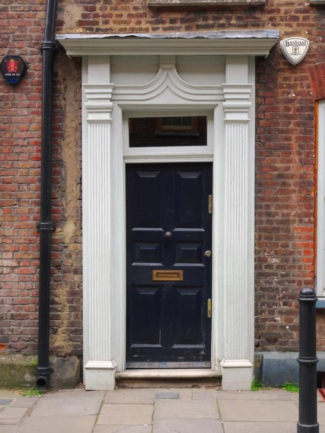 Door, is this one wonky too? Fournier Street, London, April 2019
