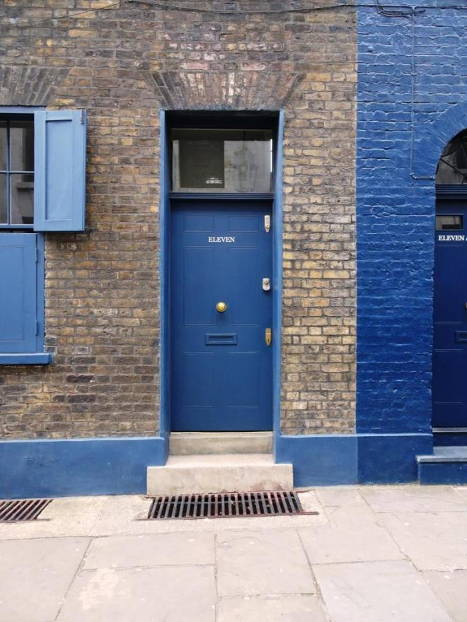 Door eleven, Fournier Street, London, April 2019