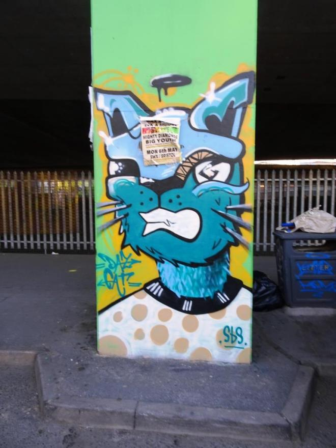 Daz Cat, M32 Spot, Bristol, April 2019