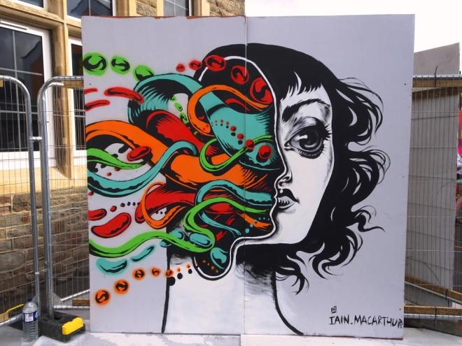 Iain MacArthur, Upfest, Bristol, July 2018