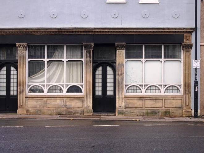 This fancy window/door establishment has seen better days, Hotwells, Bristol, March 2019