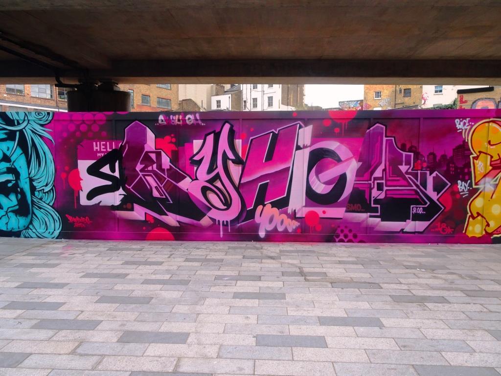 SkyHigh, Shoreditch, London, November 2018