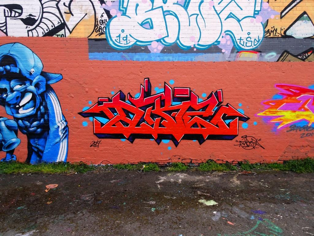 Dibz, Dean Lane, Bristol, May 2019