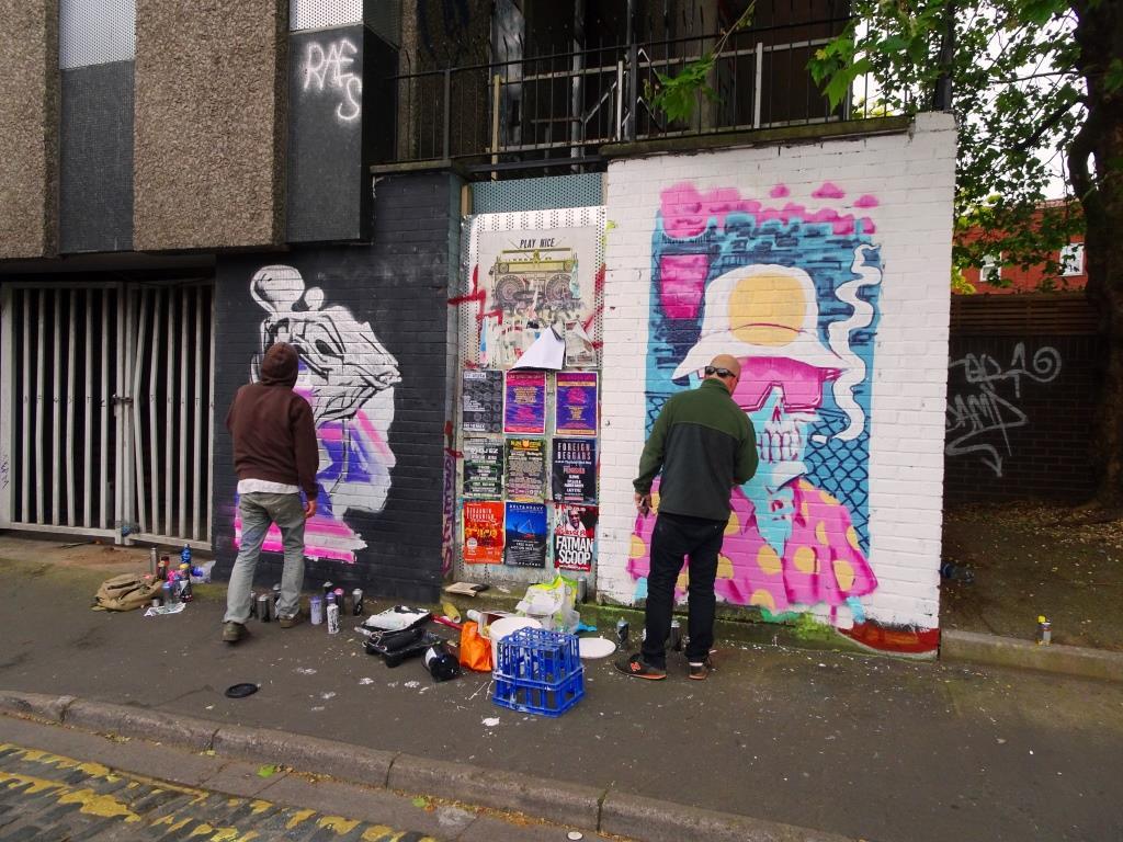Nightwayss and Laic217, Wilder Street, Bristol, May 2019