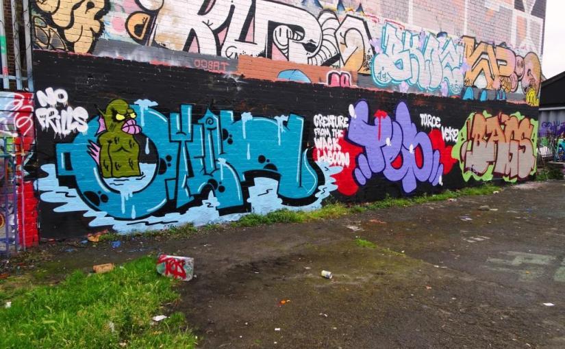 Biers, Slim Pickings and Bags, Dean Lane, Bristol, June 2019