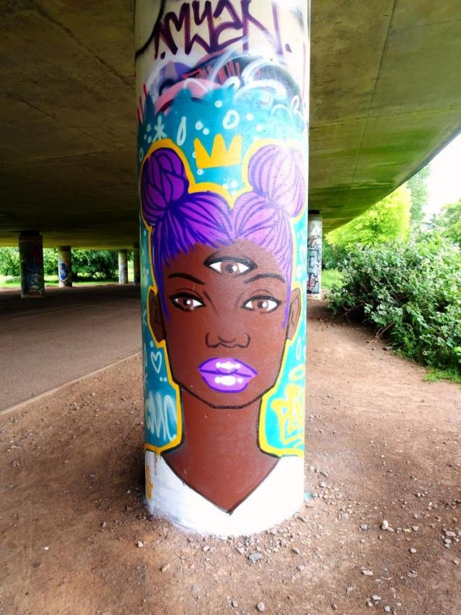 Pekoe, Brunel Way Bridge, Bristol, June 2019