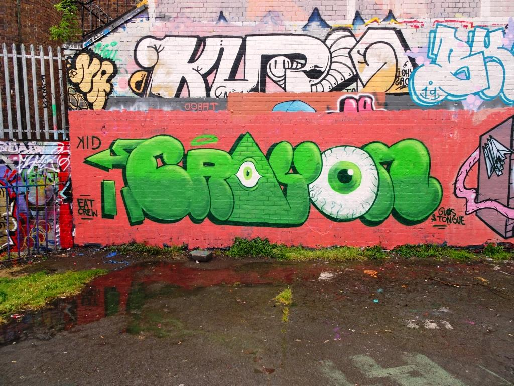 Kid Crayon, Dean Lane, Bristol, June 2019
