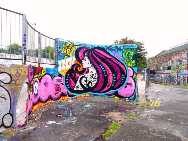 Inkie, Dean Lane, Bristol, June 2019