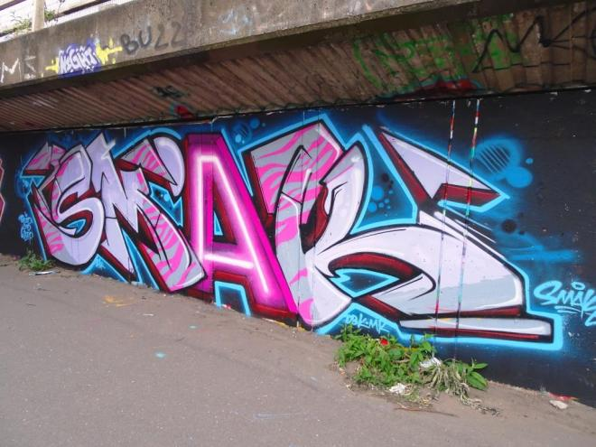 Smak, M32 cycle path, Bristol, June 2019