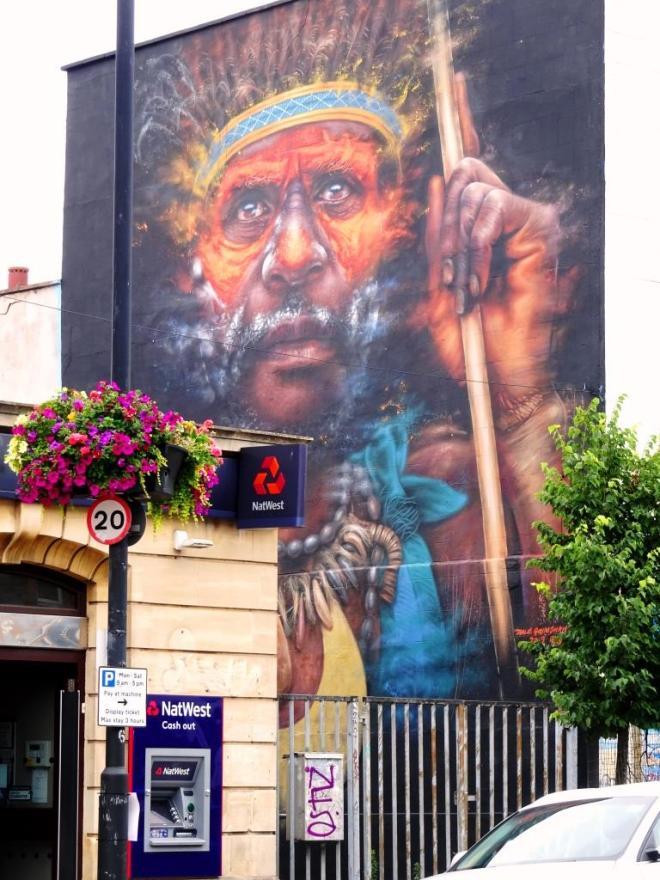 Dale Grimshaw, North Street, Bristol, July 2019