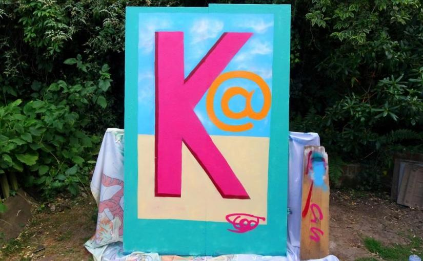 K is for Kat, Scooj, 14 July 2019