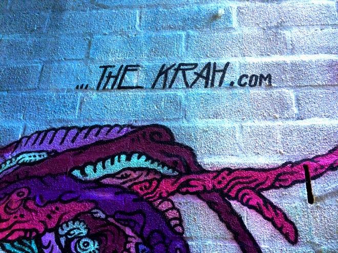 The Krah, Leonard Lane, Bristol, January 2016