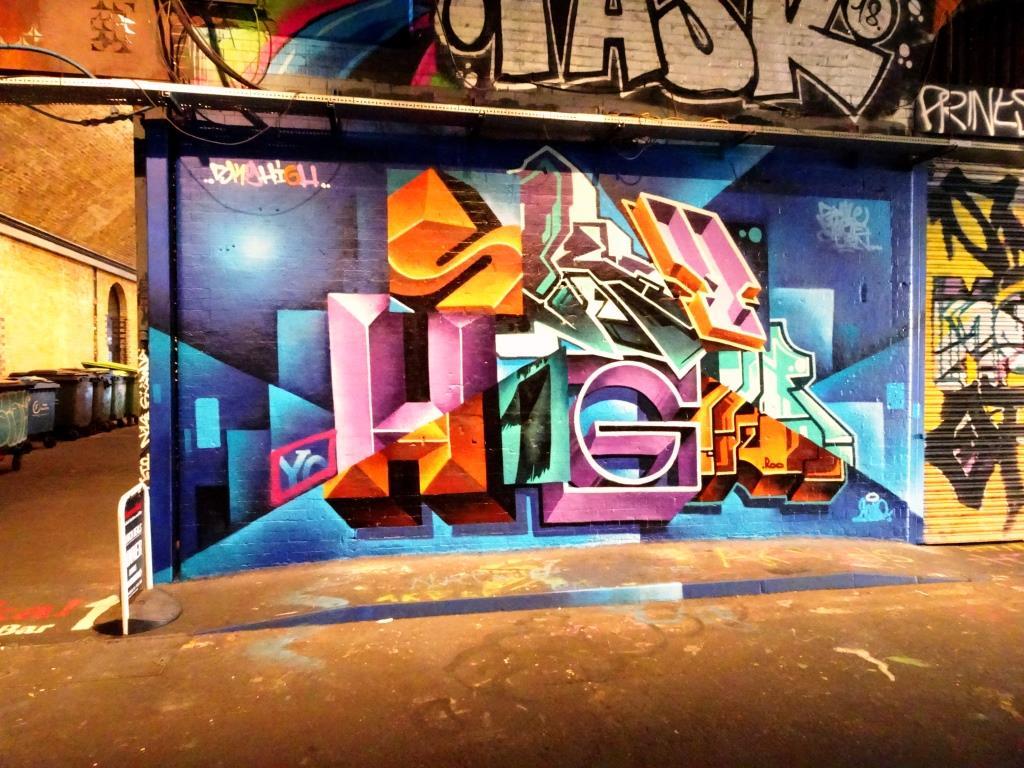 SkyHigh, Leake Street, London, July 2019