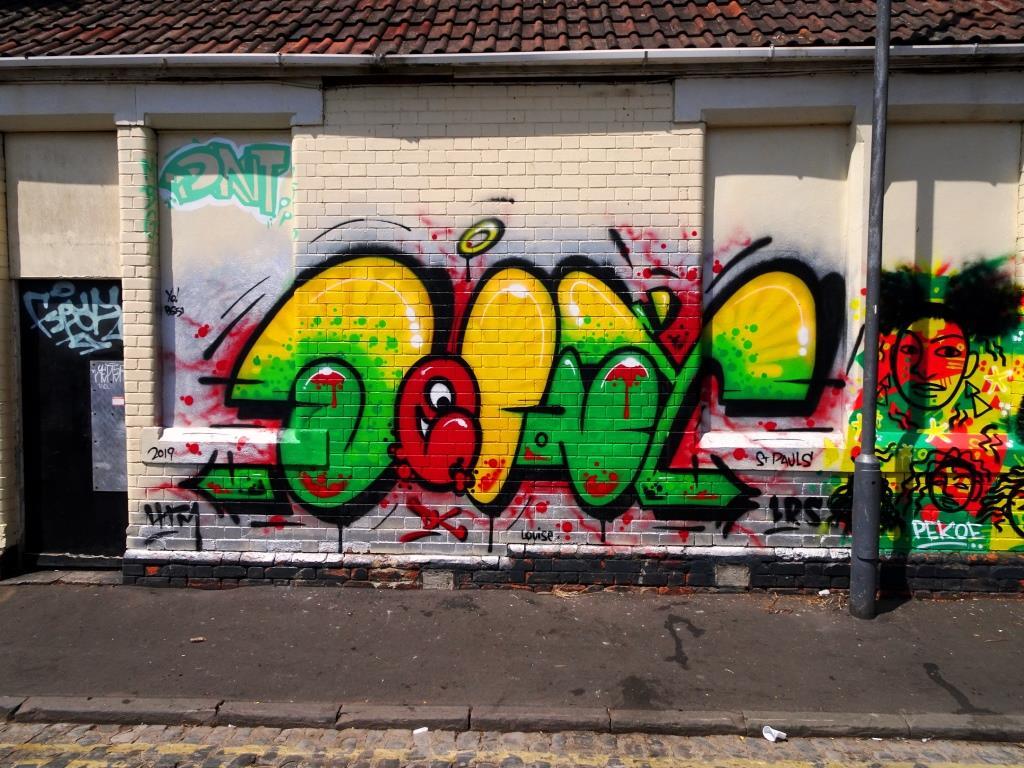 Decay, Wilder Street, Bristol, July 2019