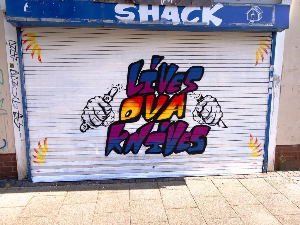 DNT, Grosvenor Road, Bristol, July 2019
