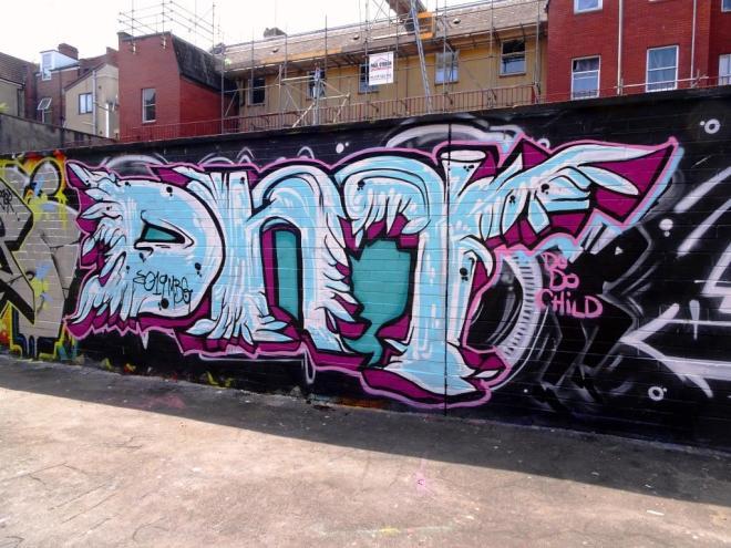 DNT, Moon Street, Bristol, July 2019