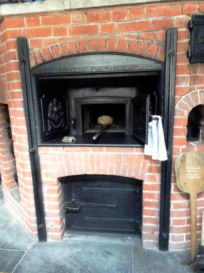 The bread oven, Lanhydrock House, Cornwall, August 2019
