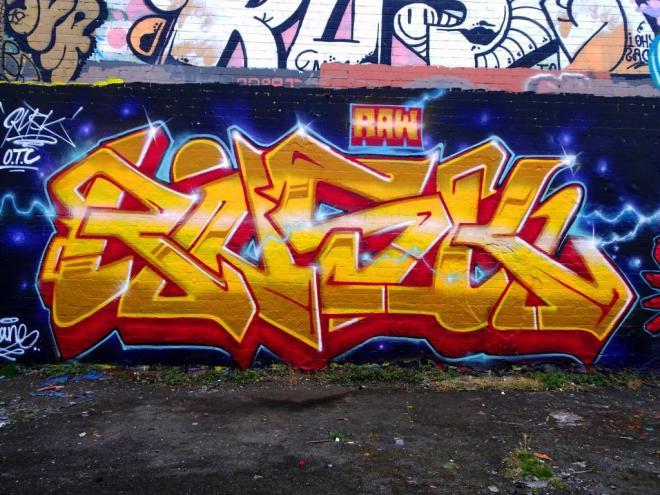 Rusk, Dean Lane, Bristol, August 2019