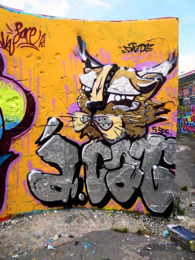 Daz Cat, Dean Lane, Bristol, August 2019