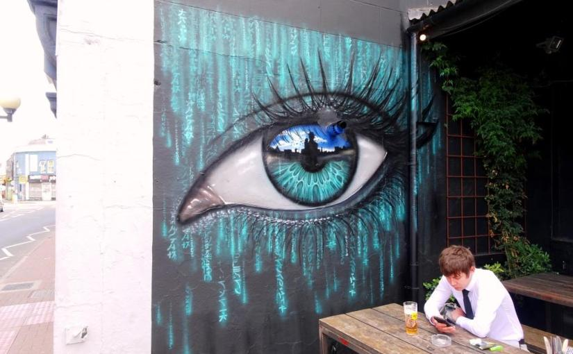 My Dog Sighs, North Street, Bristol, July 2019