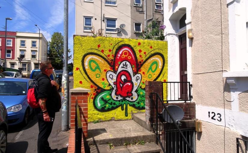 Decay, Brighton Street, Bristol, July 2019
