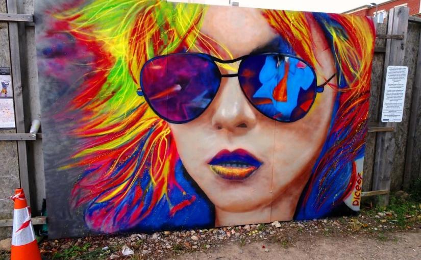 Dice67, Paint festival 2019, Cheltenham, September 2019