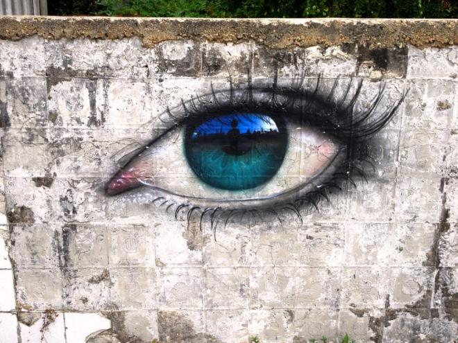My Dog Sighs, Paint festival 2018, Cheltenham, September 2019