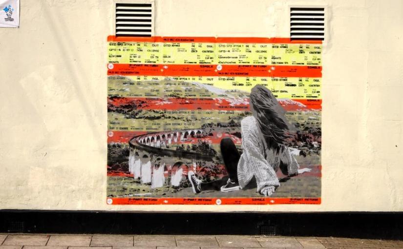Johnman, Paint festival 2019, Cheltenham, September 2019