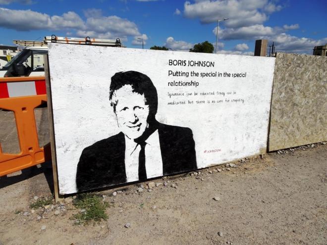 John D'oh, Paint festival 2019, Cheltenham, September 2019