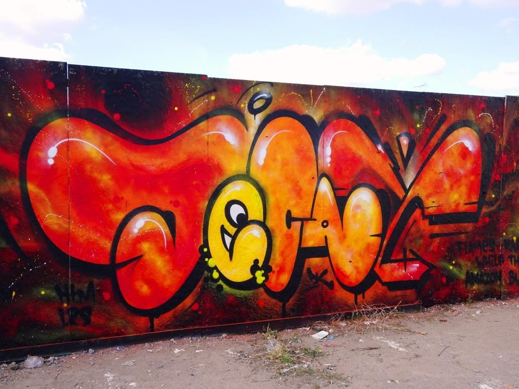 Decay, Paint festival 2019, Chemtenham, September 2019