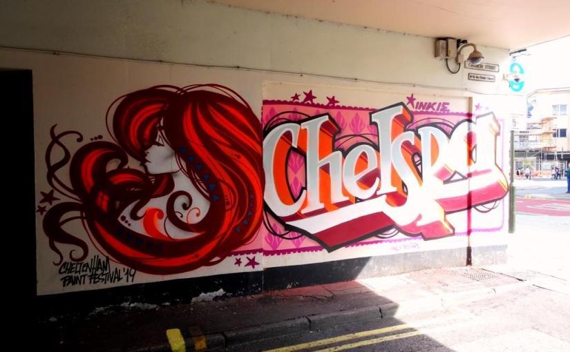 Inkie, Paint festival 2019, Cheltenham, September 2019