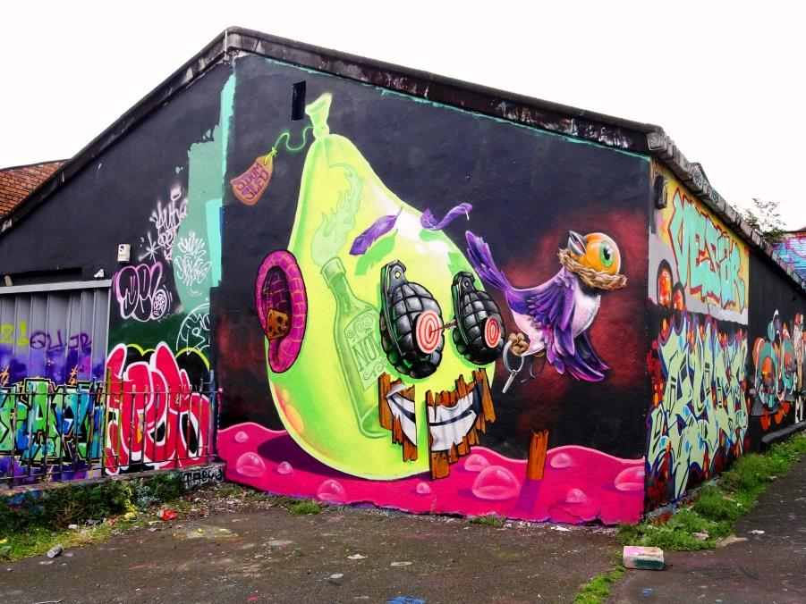 3 Dom and Sled One, Dean Lane, Bristol, September 2019