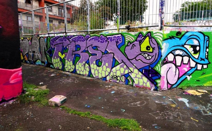 T-Rex, Dean Lane, Bristol, September 2019