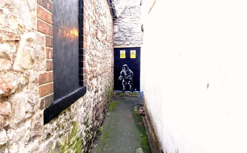 2471. Back alley, Weston-super-Mare