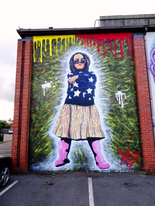 Dice 67, Paint Festival 2018, Cheltenham, September 2019