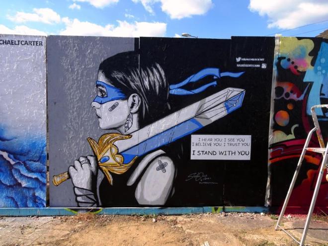 Stephen Quick, Paint Festival 2019, Cheltenham, September 2019