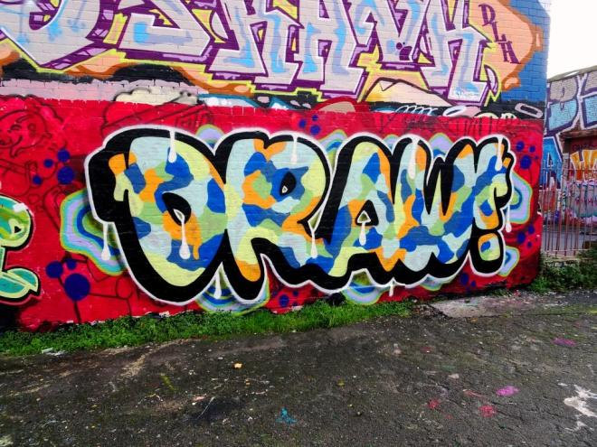 Mr Draws, Dean Lane, Bristol, October 2019