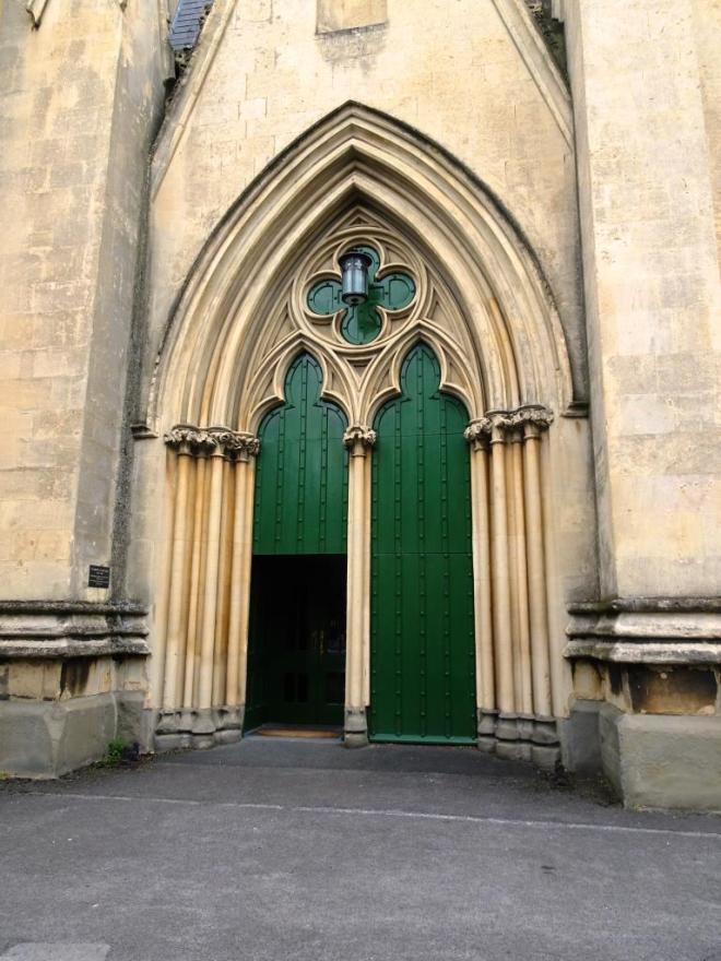 When is a door not a door...? Cheltenham, September 2019