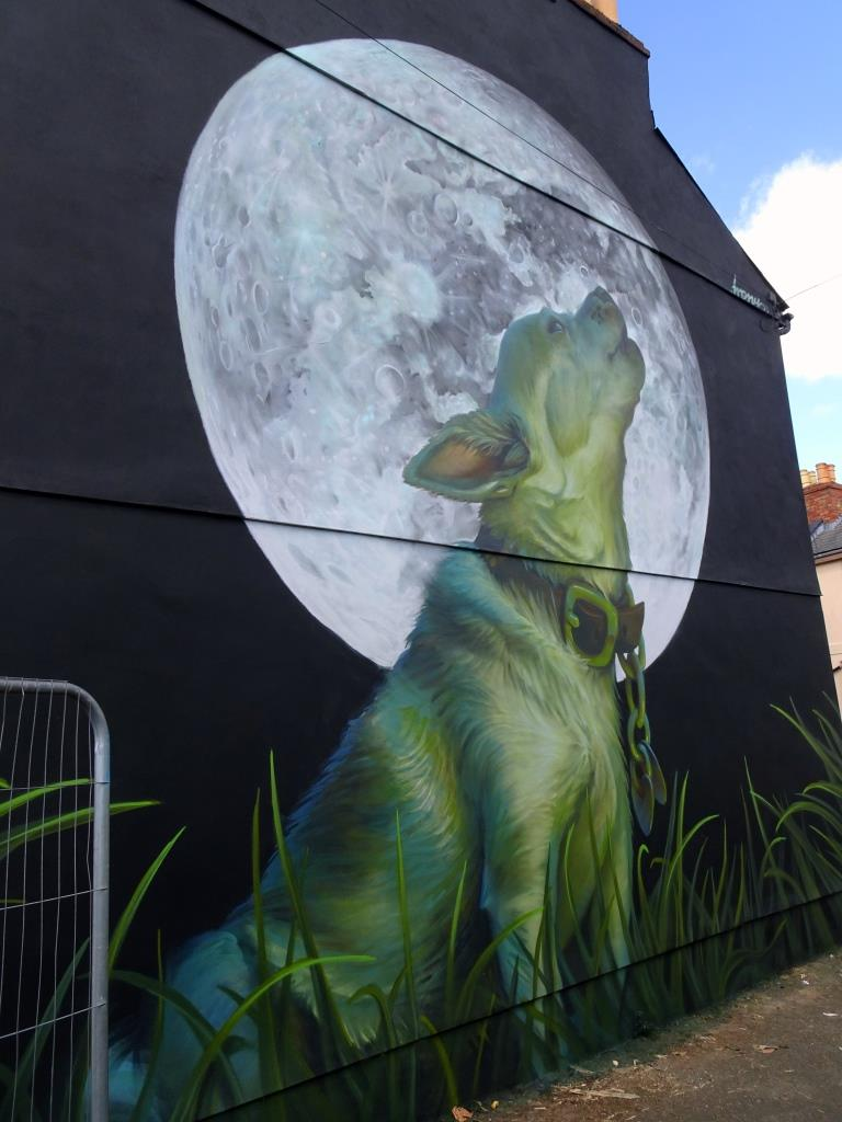 Irony, Paint Festival 2019, Cheltenham, September 2019