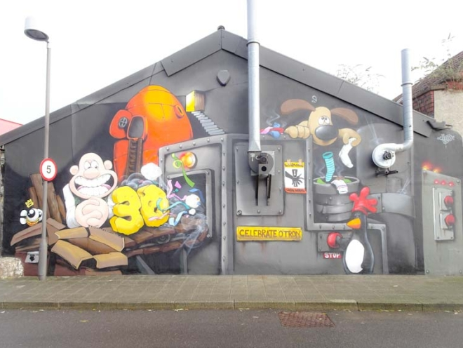 Cheo, Gas Ferry Road, Bristol, November 2019