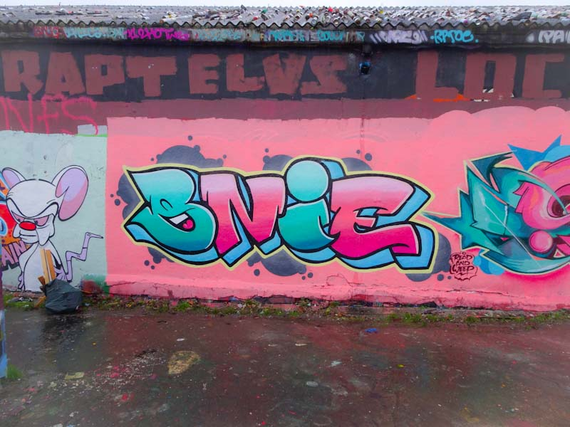 Bnie, Dean Lane, Bristol, December 2019