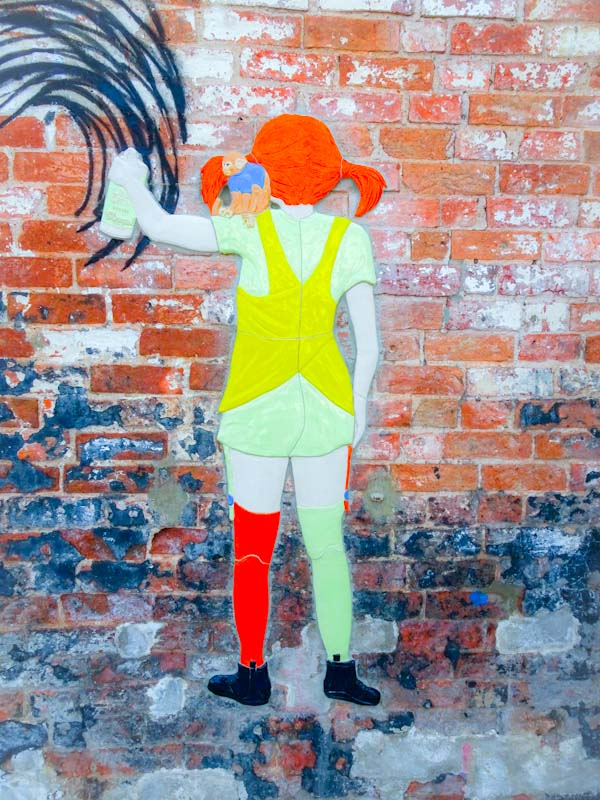 Chinagirl Tile, Paint Festival 2019, Cheltenham, September 2019