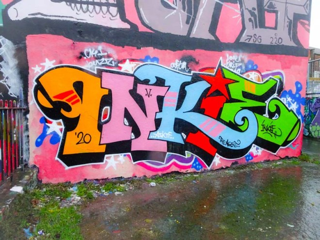 Inkie, Dean Lane, Bristol, January 2020