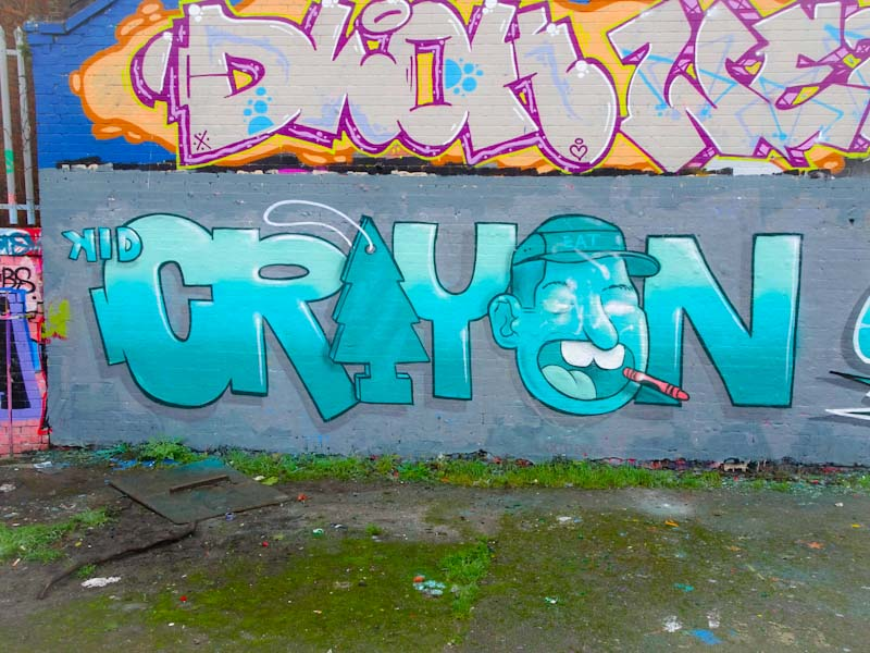 Kid Crayon, Dean Lane, Bristol, January 2020