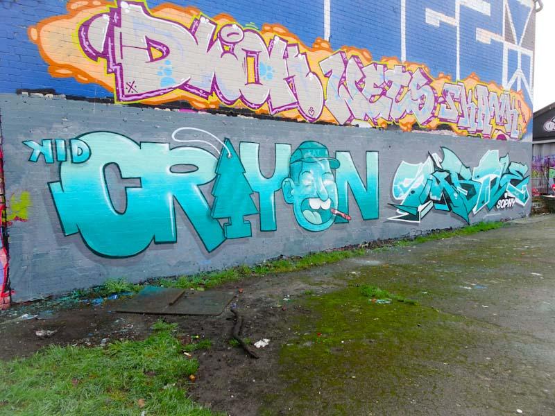 Kid Crayon and Subtle, Dean Lane, Bristol, January 2020