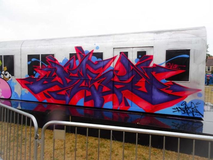 Dibz, Upfest, Bristol, July 2018