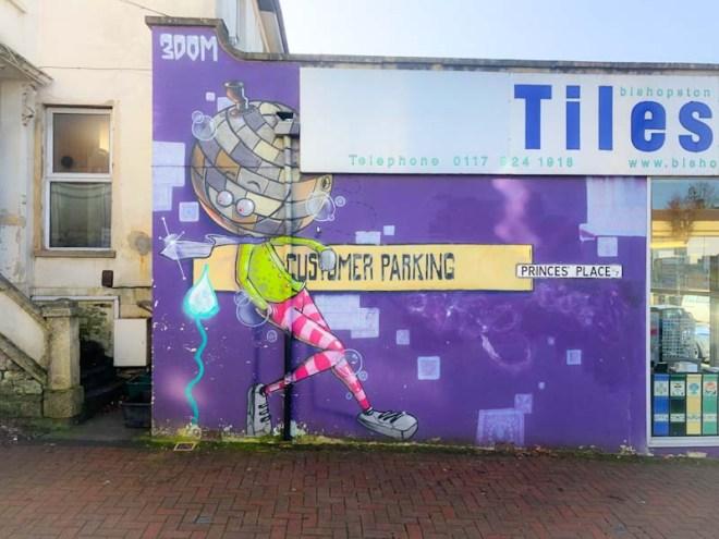 3Dom, Princes' Place, Bristol, February 2020