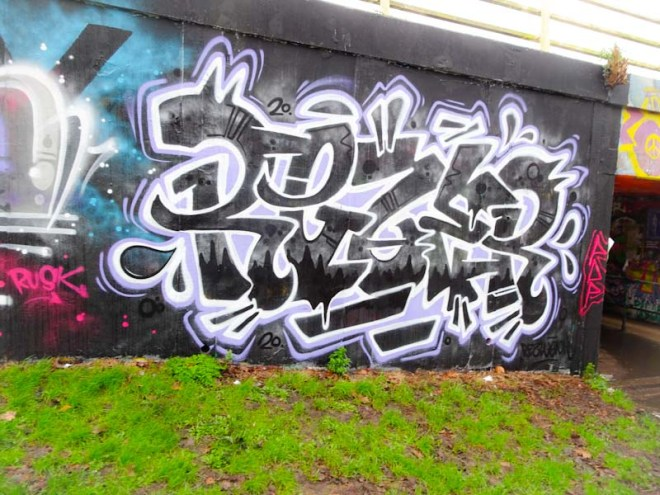 Rezwonk, M32 roundabout, Bristol, February 2020